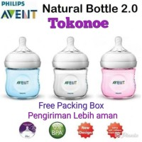 Botol Susu Philips AVENT Natural bottle 125ml twin pack SCF691 - Isi 2