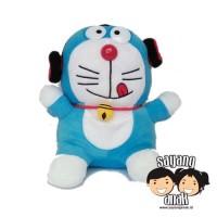 Boneka Karakter Doraemon Headset