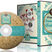 Paket DVD Design Kumpulan Koleksi Desain Undangan Motif Ornament Bunga