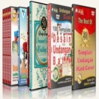 Paket 10 DVD Design Kumpulan Koleksi Desain Undangan Lengkap Plus