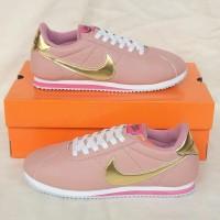 Sepatu Nike Cortez Blush pink gold