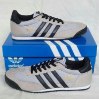 Sepatu Adidas Dragon Light Grey black