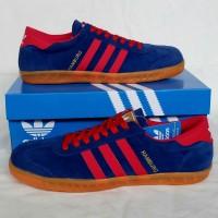 Sepatu Adidas Hamburg Blue red