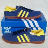 Sepatu Adidas Hamburg Blue Yelow