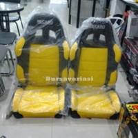 Jog Mobil Universal Recaro Sparco Komb. Kuning Hitam