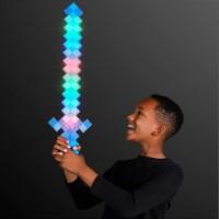 Pedang Minecraft LED Diamond Sword