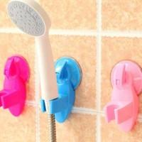 Shower Holder Suction Cup Gantungan Kran Mandi Toilet Tanpa Paku