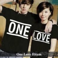 one love couple | kaos couple | kaos pasangan | kaos kembar