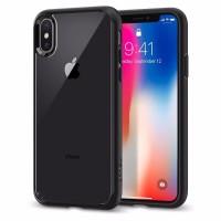 Spigen iPhone XS / X Case Ultra Hybrid - Crystal Clear