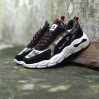 Sepatu Fashion X Champion Import / Black Wanita / Running Gym Keren
