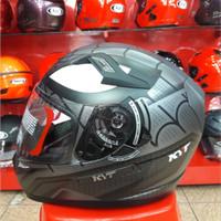 Helm KYT K2 Rider Motif Spider Doff Grey K 2 Rider Marvel Seri 1