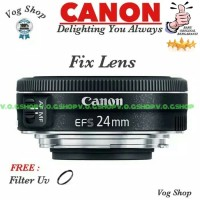 Lensa Fix Canon EFS 24MM F/2.8 STM