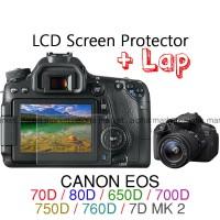 anti gores lcd screen guard Canon EOS 70D 80D 650D 700D 750D 7D mark 2