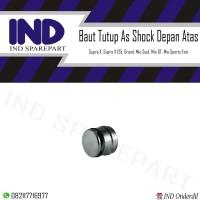 Baut Tutup As Shock Depan Supra X,Fit/Vario/Beat/Scoopy/Grand/Spacy
