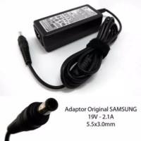 Adaptor Charger Laptop Samsung 19V -2,1A Pin Central Original