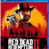 Kaset/BD PS4 Red Dead Redemption II