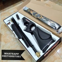 Sharp river gamo black (satu lubang)