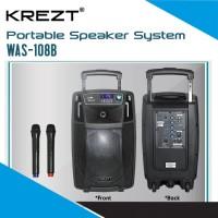 KREZT WAS-108B - PORTABLE SOUND SYSTEM