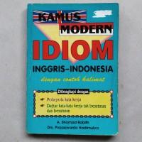 Kamus Modern Idiom Inggris - Indonesia