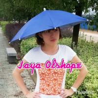 payung topi/topi payung/payung kepala/payung lipat
