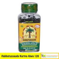 Habbatussauda Cap Kurma Ajwa 120 Kapsul (Hipertensi, Daya Tahan Tubuh)