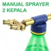 Alat Semprot 2 Kepala / Sprayer Head / Hand Pump Multifungsi