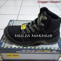 Sepatu Safety Jogger Desert S1P Black/Hitam (utk size 45,46)