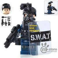 lego s.w.a.t. swat military police soldier army minifigure
