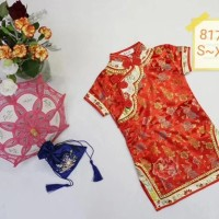 Dress Qipao Cheongsam Imlek Anak Bayi - Chinese Girl
