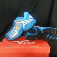 Sepatu lari / sepatu jogging / running shoes Calci Blaze blue