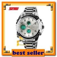 jam tangan SKMEI Fashion Watch 1021 Original Water Resistant 50M - Sil