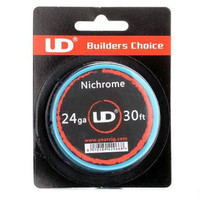 Nichrome youde UD ni80 coil wire 24 awg 30 ft feet kawat vape