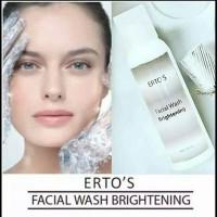 Ertos Facial Wash Brightening / Pembersih Dan Pencerah Wajah