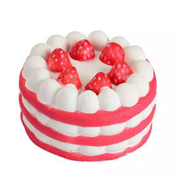 Squishy Birthday Cake Strawberry Mini