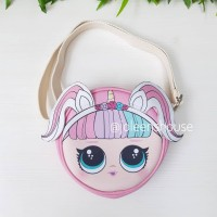 LOL Unicorn Sling Bag Tas Anak Import Premium