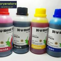 Paket Tinta Epson Isi Ulang Diamond Ink 250ml High Quality Ink