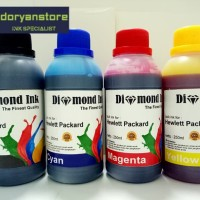 Tinta HP isi Ulang / Refill Diamond Ink Best Quality 250ml