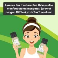 Essenzo Tea Tree Essential oil (Jerawat) 10ml