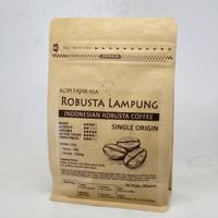 Kopi Fajarasa Robusta Lampung Biji Kopi Robusta 200 gram