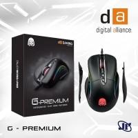 Mouse Gaming Digital Alliance G Premium DA Premium Black Modular RGB O