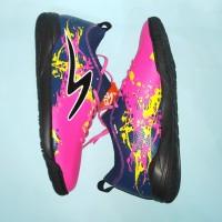 Sepatu Futsal Specs Cyanide TNT 19 FS (Scandinavian/Galaxy Blue/Black)