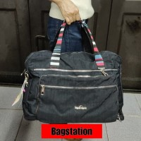 TRAVEL BAG KIPLING IMPORT HIGH QUALITY TAS PAKAIAN TAS SERBA GUNA
