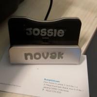 Sticker Nama Mini / Label Waterproof /Stiker Nama Tanpa Gambar J Novak