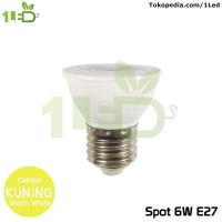 Lampu LED Spot 6W E27 Kuning Warm White Spot Light Lampu Sorot