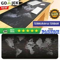 Mousepad Gaming Motif Peta Dunia 300x800 mm/Gaming Mousepad JUMBO XL