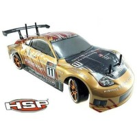 Rc drift HSP FF 94123 1/10 RC Car 4WD hsp Flaying fish red rally
