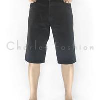 Celana Pendek Jeans Levis Pria Warna Hitam untuk santai pantai casual