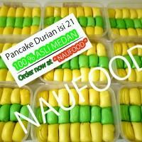 Pancake durian isi 21 asli medan