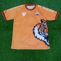 JERSEY BOLA PERSIJA TRAINING TIGER ROAR ORANGE 2018/2019 - BAJU BOLA