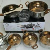 OX-933 Panci Eco Cookware Set Oxone